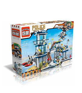 ENLIGHTEN 1916 Prison Break Building Blocks Set