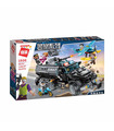 ENLIGHTEN 1930 Antiriot Armored Car Building Blocks Toy Set