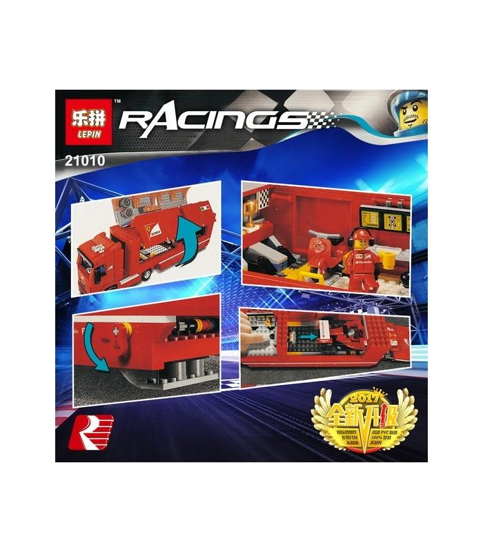 LEPIN 21010 Ferrari F14 T & Scuderia Ferrari Truck Building Bricks Set