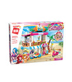 ENLIGHTEN 2021 Seafood Restaurant Building Blocks Toy Set