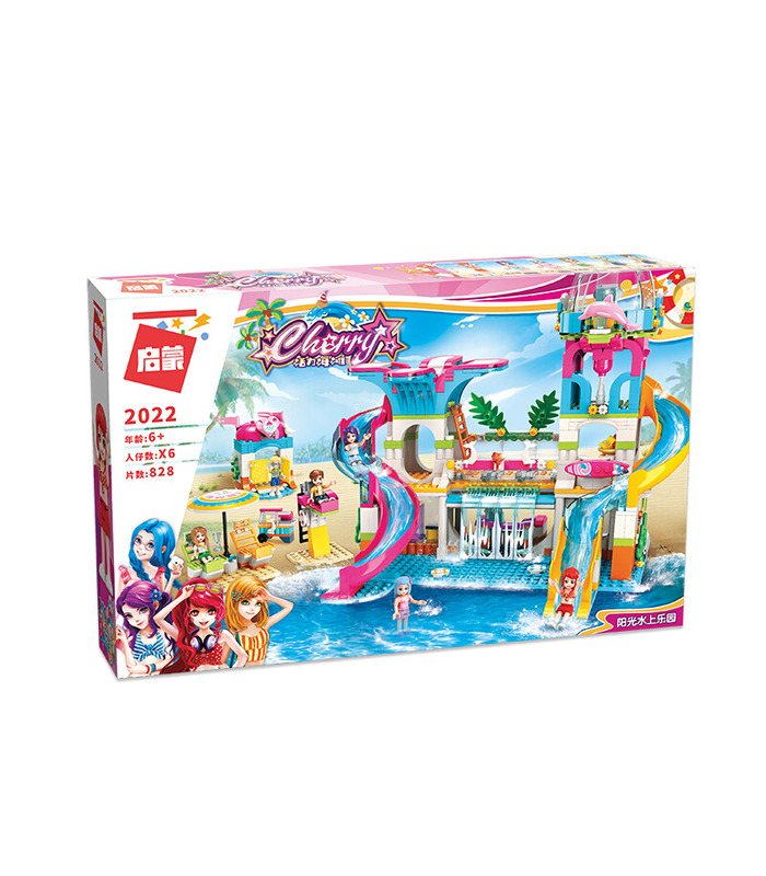 ENLIGHTEN 2022 Sunshine Water Park Building Blocks Set