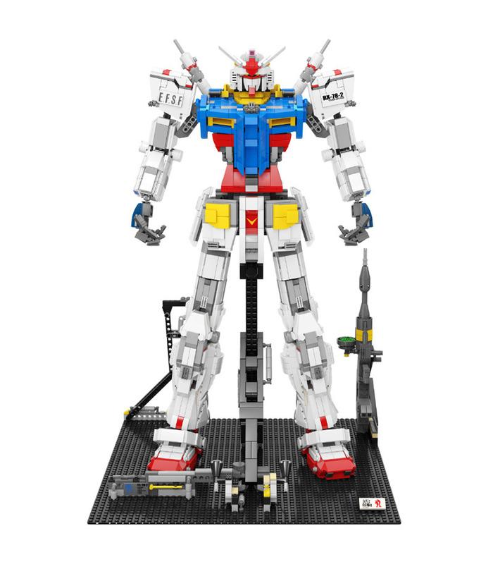 Personnalisé Super 18k Gundam 1:60 RX78-2 Briques de Construction Jouet Jeu de 3500 Pièces