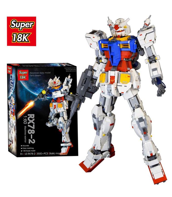 Пользовательские супер 18к Гандам 1:60 RX78-2 строительного кирпича игрушка набор 3500