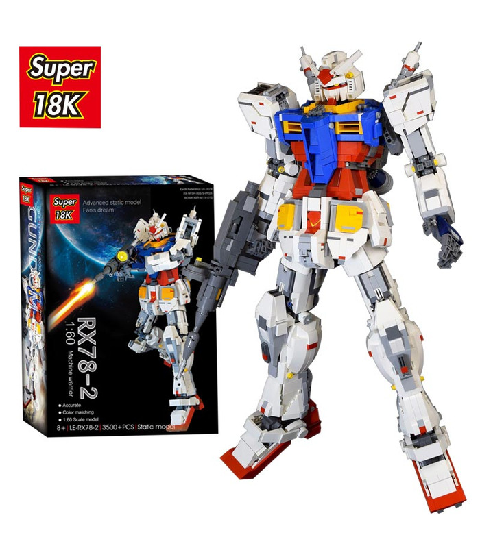 Personalizado Super 18k Gundam 1:60 RX78-2 bloques de Construcción de Juguete Set de 3500