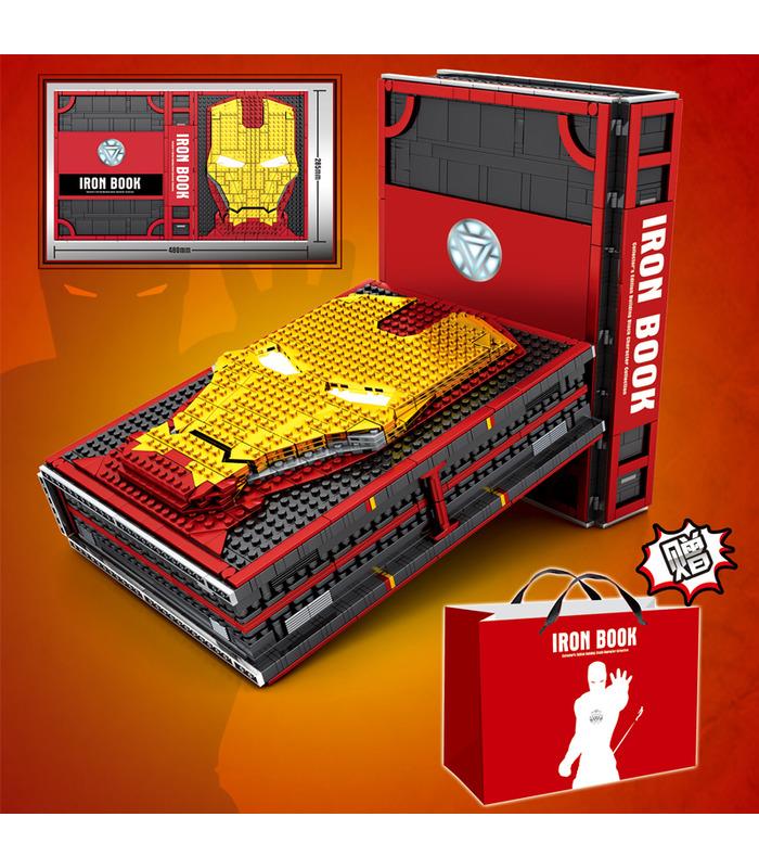 カスタムアイアンマン鉄の書記念ホール-オブ-アーマーとMinifiguresビルブロック玩具セット