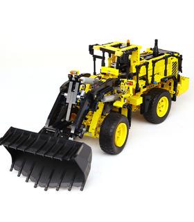 Custom Technic Volvo L350F Wheel Loader Building Bricks Toy Set