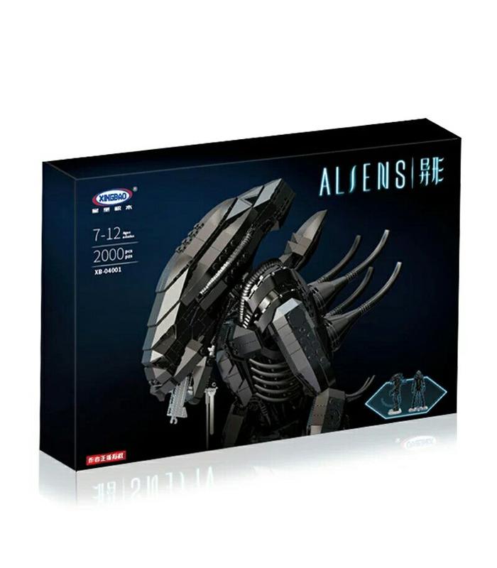 XINGBAO 04001 Alien Xenomorph Warrior Bausteine Spielzeugset