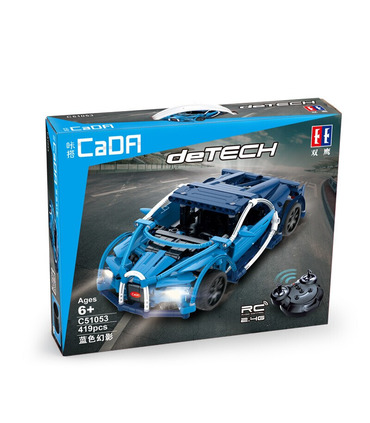 Double Eagle CaDA C51053 Bugatti Chiron Building Blocks Spielzeug-Set