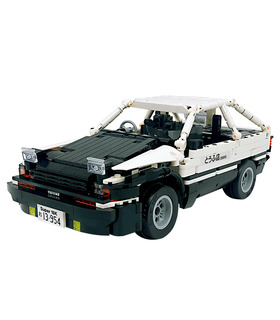 カスタム初期DトヨタAE86車電力機能ブロック玩具セット965点