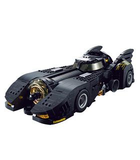 カスタムバットマンの究極のバットモービル建物の煉瓦玩具セット1788個