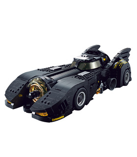 Custom Batman The Ultimate Batmobile Building Bricks Toy Set 1788 Pieces