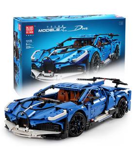 Плесень король 13125 Бугатти Диво супер спортивный автомобиль строительные блоки комплект игрушки
