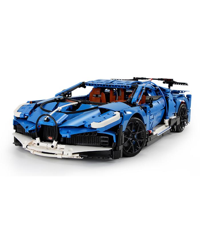 MOULD KING 13125 Bugatti Divo Super Sports Car Building Blocks Toy Set