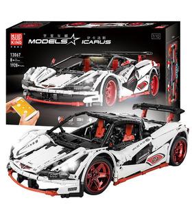 Плесень король 13067 Икар спортивный автомобиль дистанционного управления строительные блоки игрушка комплект