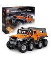 FORMEN KÖNIG 13088 Avtoros Schamane 8x8 Sibirien Offroad-Fahrzeug Fernbedienung Bausteine Spielzeugset