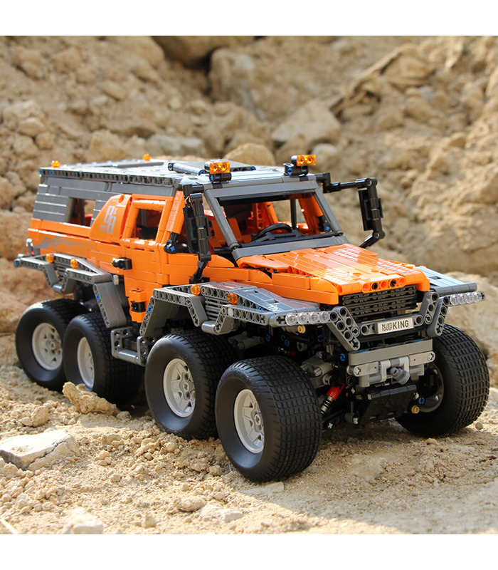 MOULD KING 13088 Avtoros Shaman 8x8 Siberia Off-Road Vehicle Remote Control Building