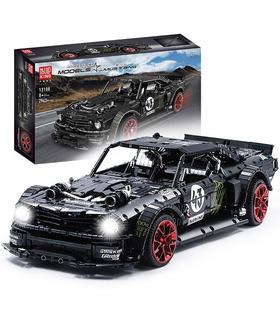 Плесень король 13108D Форд Mustang Hoonicorn дистанционного управления строительные блоки комплект игрушки