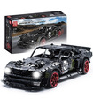 MOULD KING 13108D Ford Mustang Hoonicorn Remote Control Building Blocks Toy Set