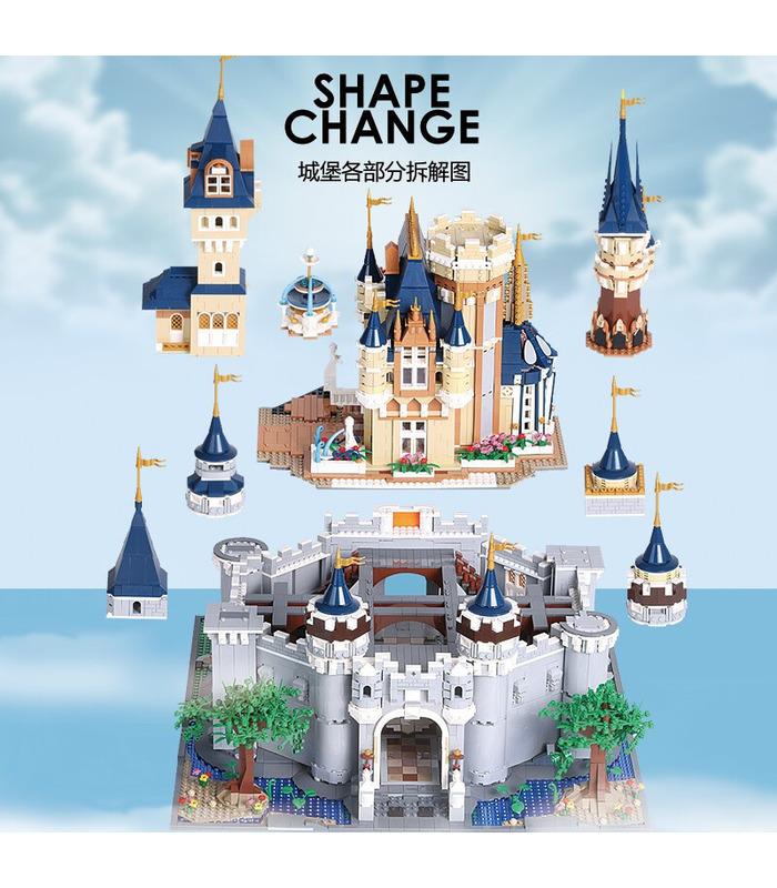 SCHIMMEL KÖNIG 13132 Paradies Disney Castle MOC Building Blocks Spielzeug-Set