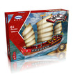 XINGBAO 25001 Cantonese Galleon Sailboat Building Bricks Toy Set