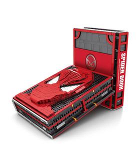 Personalizado De Spider-Man Colecciones De Libro Con Spiderman Minifiguras (Minifigures) Bloques De Construcción De Juguete Set