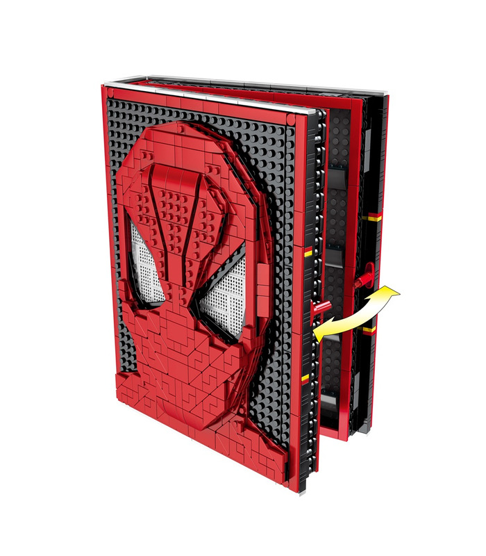 Custom Spider-Man Collections Book With Spiderman Minifigures Building Blocks Toy Set