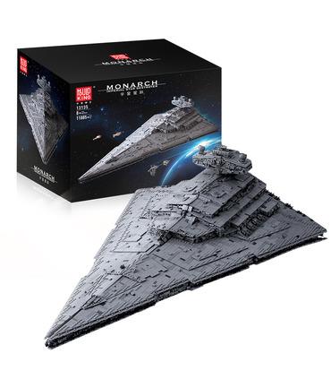 Moule Roi 13135 Star Wars Imperial Star Destroyer Monarque Blocs De Construction Jouets Jeu
