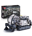 Mould King 13130 Technic Liebherr Terex RH400 Excavator Remote Control Building Blocks Toy Set