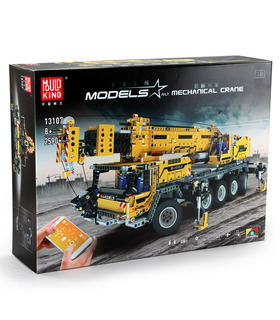 金型王13107テクニックの移動式クレーンMk II遠隔制御ブロック玩具セット