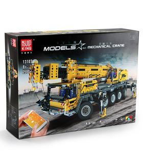 Плесень Король 13107 серии Technic передвижной кран Мк II пульт дистанционного управления строительные блоки комплект игрушки