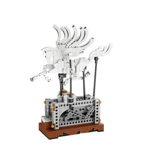 Custom Mechanical Pegasus Automaton Building Bricks Toy Set