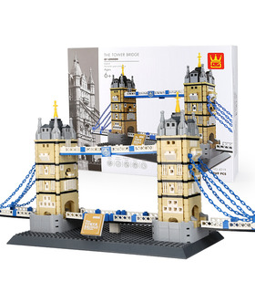 WANGE Architecture Tower Bridge London Building 4219 Building Blocks Toy Set