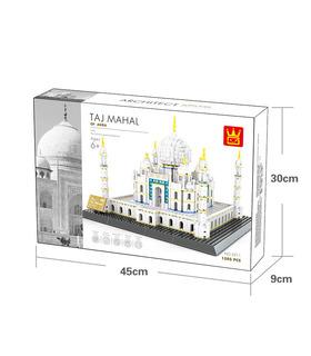 WANGE Architecture du Taj Mahal en inde 5211 Blocs de Construction Jouets Jeu