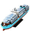 Custom Maersk Line Triple E Building Bricks Toy Set 1518 Pieces