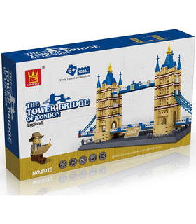 WANGE Architektur, die Tower Bridge 5215 Building Blocks Spielzeug-Set
