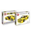 Sembo 701504 Bumblebee Camaro Building Blocks Toy Set