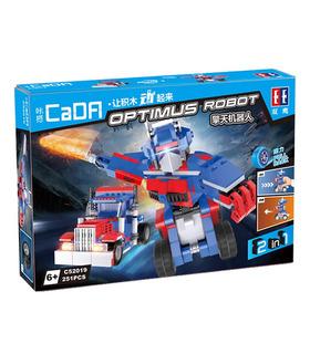 Двойной Орел Када C52019 Оптимус Робот Строительные Блоки Комплект Игрушки