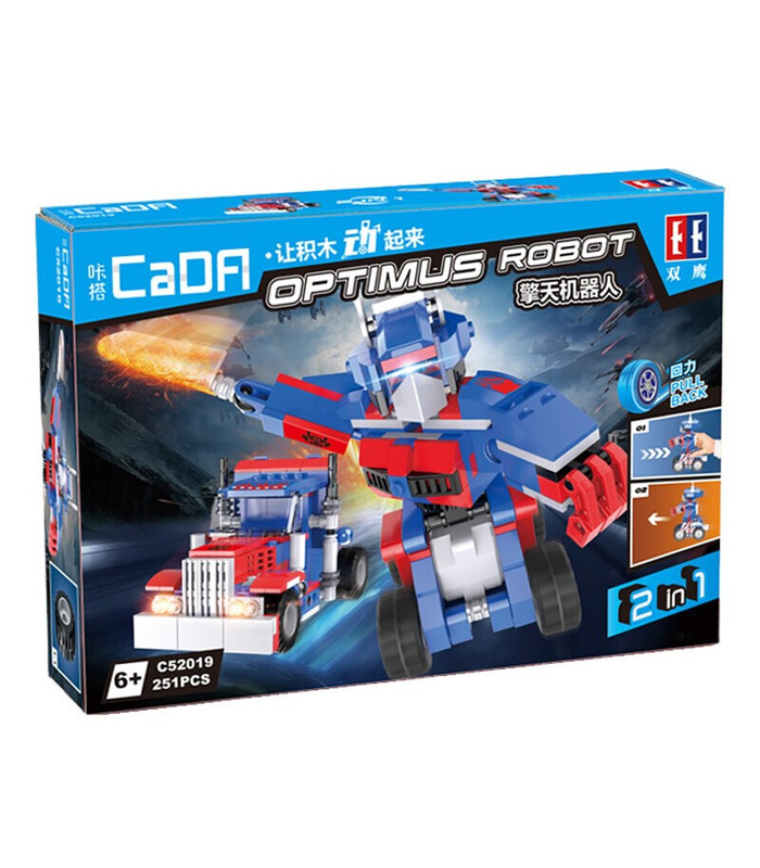 Double Eagle CaDA C52019 Optimus Robot Building Blocks Toy Set