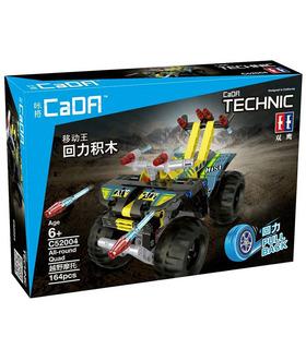 Double Eagle CaDA C52004 Off-Road-Motorrad-Building Blocks Spielzeug-Set