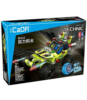 Double Eagle CaDA C52002 Desert Racer Building Blocks Toy Set