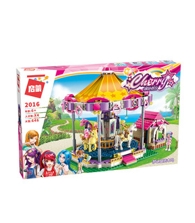 ENLIGHTEN 2016 Fantasy Carousel Building Blocks Toy Set