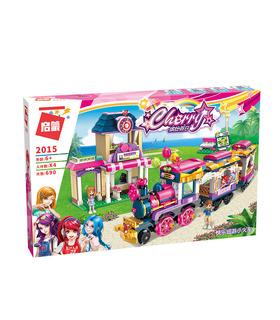 ENLIGHTEN 2015 Freut sich Little Zug Bausteine Spielzeug-Set
