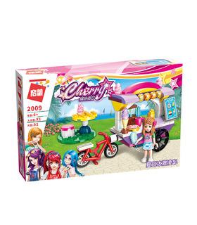 ENLIGHTEN 2009 Ice Cream Cart Building Blocks Spielzeug-Set