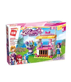 ENLIGHTEN 2010 Glückliche Souvenir Stall Building Blocks Spielzeug-Set