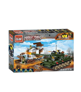 ENLIGHTEN 1711 The Battle Building Blocks Toy Set