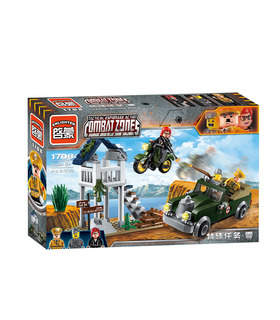 ENLIGHTEN 1708 Besondere Mission Zero Building Blocks Spielzeug-Set