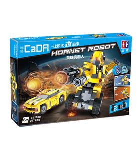 ダブルイーグルCaDA C52020ホーネットロボットのブロック玩具セット