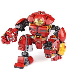Benutzerdefiniert Das Hulkbuster Smash-Up Building Bricks Spielzeugset