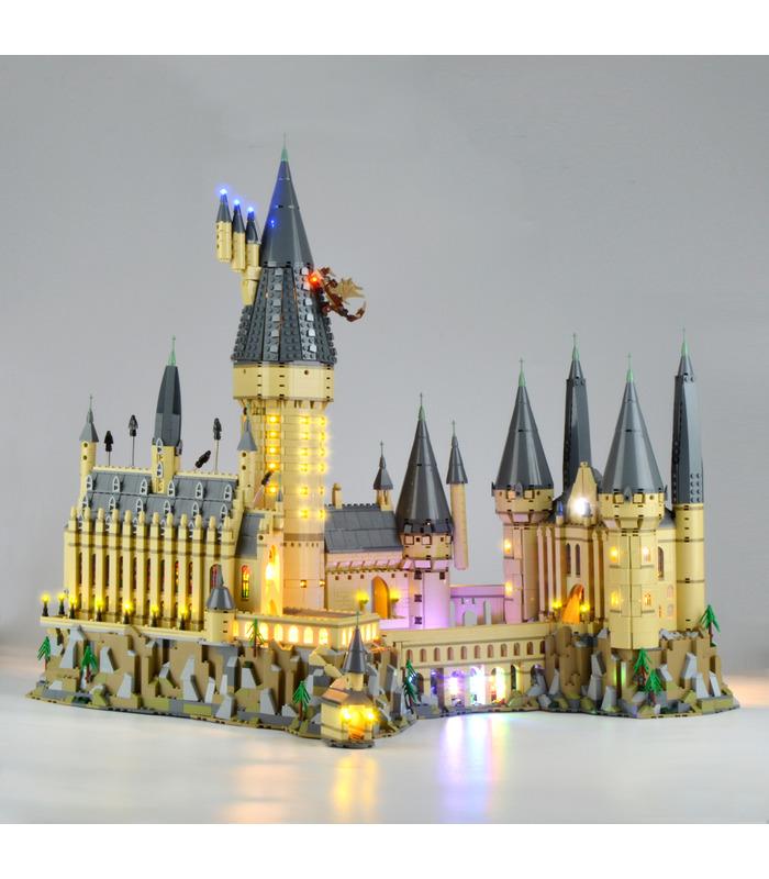 Kit d'éclairage Pour Harry Potter Hogwarts Castle Set de projecteurs à LED 71043