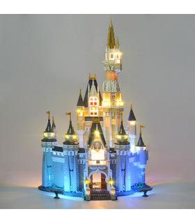 Kit de luz Para Disney Castillo Set de Iluminación LED 71040